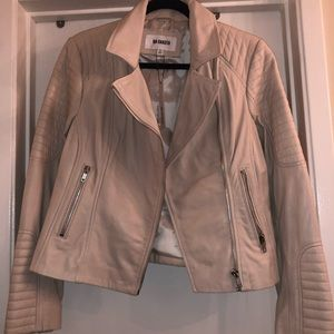 BB Dakota Braelyn Leather Moto Jacket